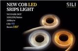 New cob led light strip no dark dot 320leds metre 100lm w beam: 180°