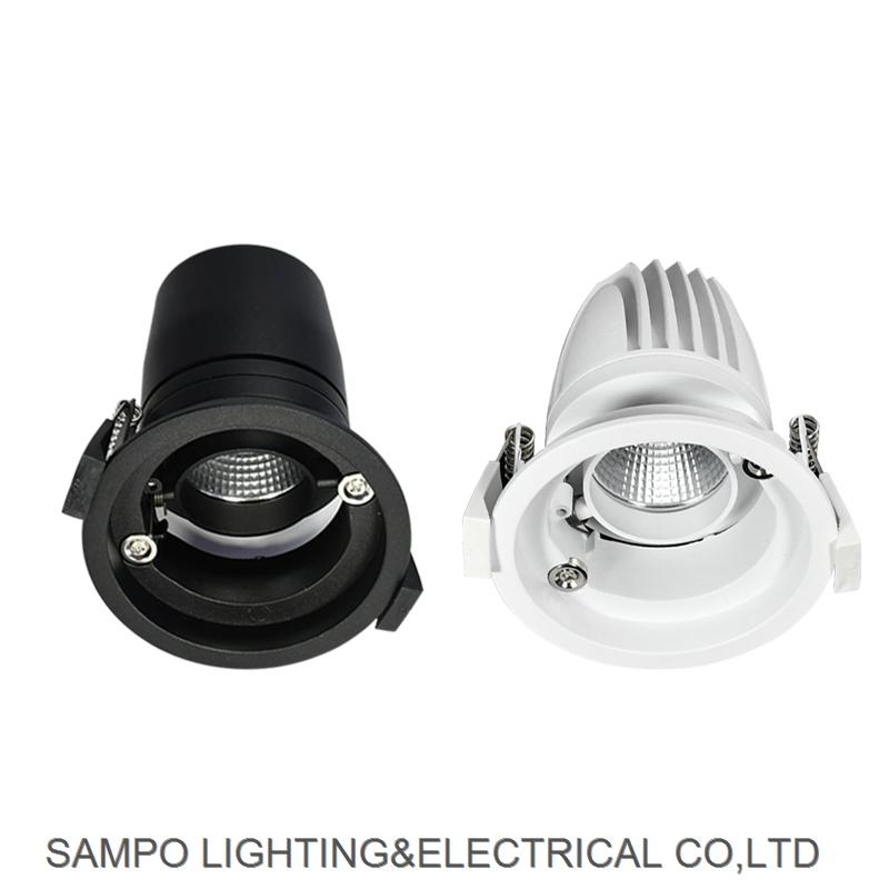 Tuya Alexa Wifi Adjustable High Lumen Dimmer COB LED Downlight Smart