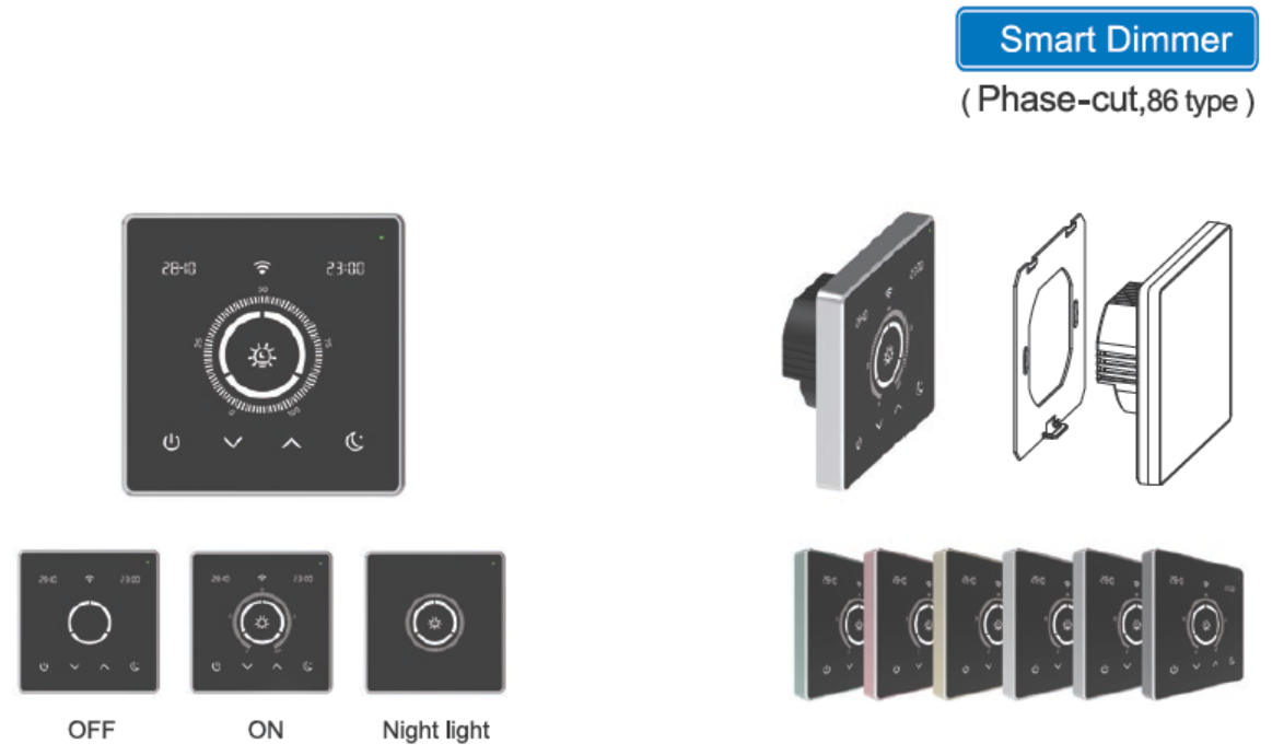 Smart Dimmer (Phase-cut 86 type)