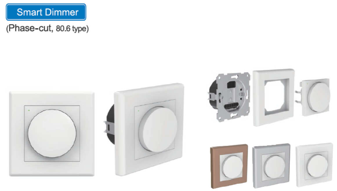 Smart Dimmer(Phase-cut 80.6 type)