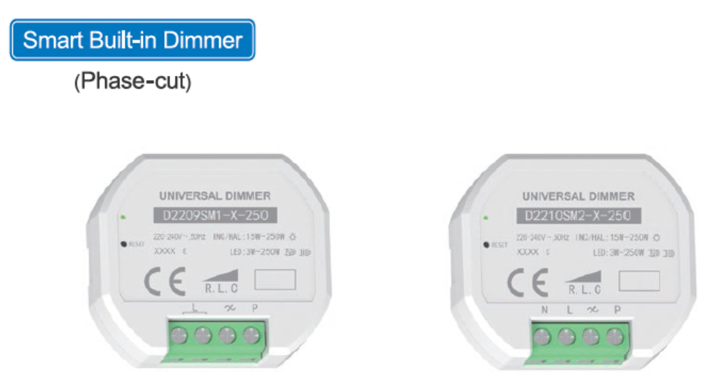 Smart Built-in Dimmer(Phase-cut)