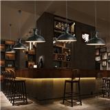 Industrial style retro style restaurant chandelier