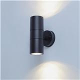 1 6 Carbon fiber waterproof modern up and down outdoor GU10 wall mounted sensor wall light